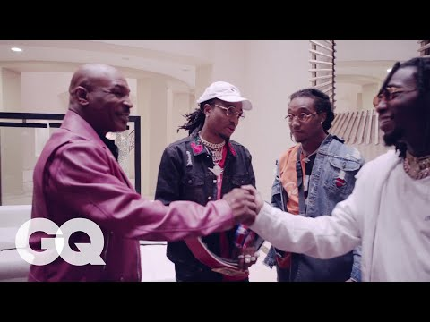 Download Youtube: Mike Tyson Takes Migos on a Tour of His Mansion | GQ