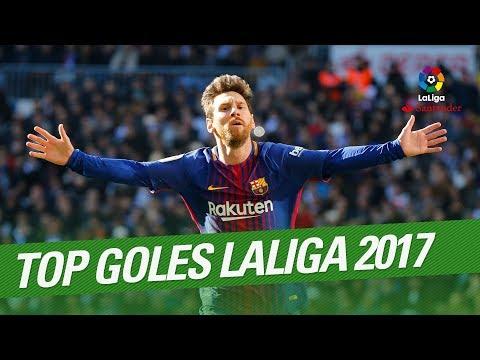 Top goals laliga 2017