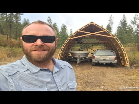 How to build a shed for $500 that's BIG
