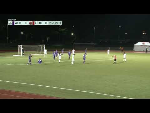 Highlights: Cornell Men's Soccer vs Albany - 10/23/18