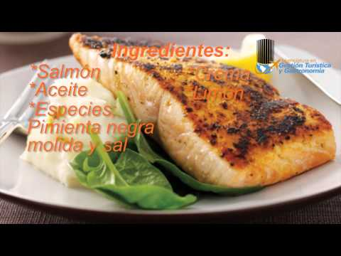 Como preparar salm n en crema holandesa castor tips youtube for Como cocinar salmon