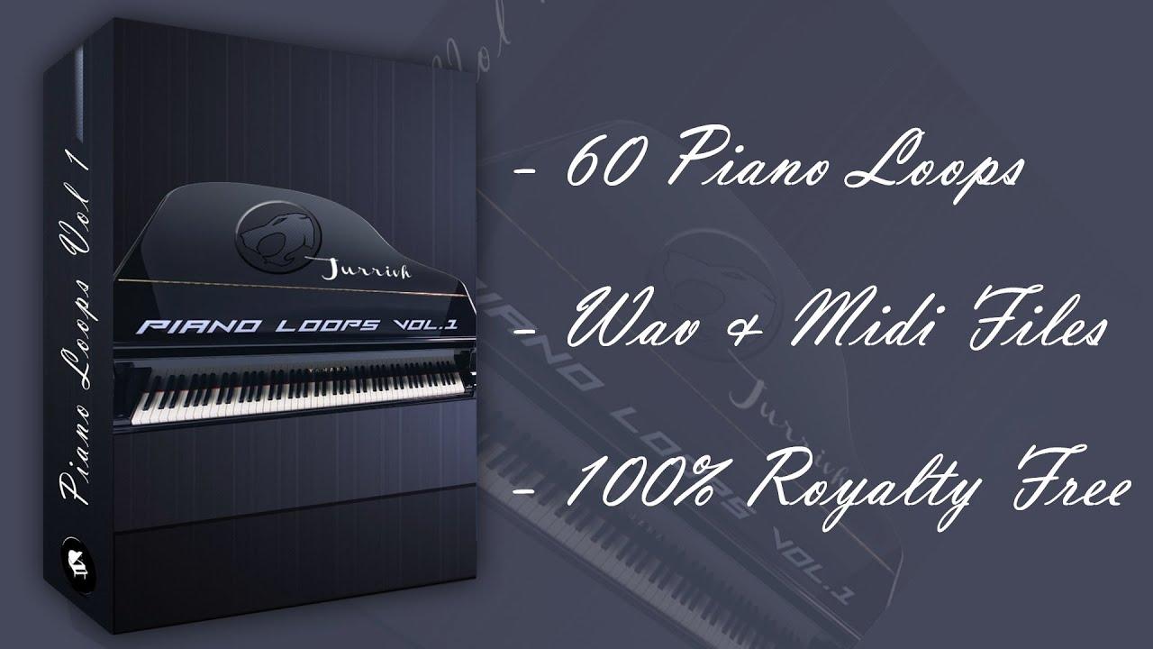Piano Loops Vol 1 - 60 Royalty Free Piano Loops! by Jurrivh