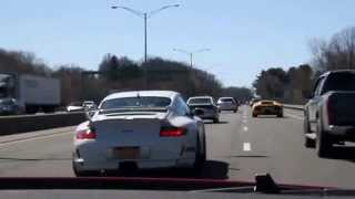 Dashcam - Nissan GT-R Ride and Race with Supercar