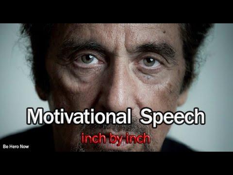 Best Motivational Speech - Al Pacino's speech