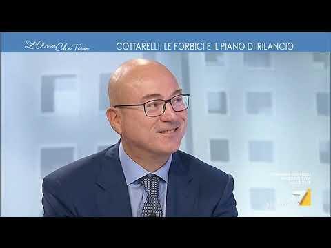 """Forbici o Recovery? Carlo Cottarelli: """"Non metterei altri soldi nel sistema pensionistico"""""""