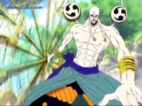 Sempat muncul sebagai musuh luffy, sang dewa petir mengasingkan dirinya ke bulan untuk mengungkap warisan dari nenek moyangnya. One Piece Wallpaper One Piece Luffy Vs Enel Full Fight