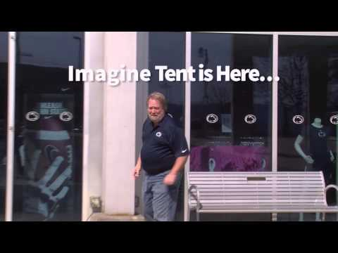 Penn State Bookstore TV spot for the Blue/White Tent Sale