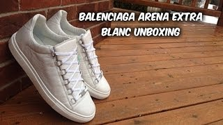Balenciaga arena low extra blanc/white| unboxing | first impression | @ferrangel21 | #dc21