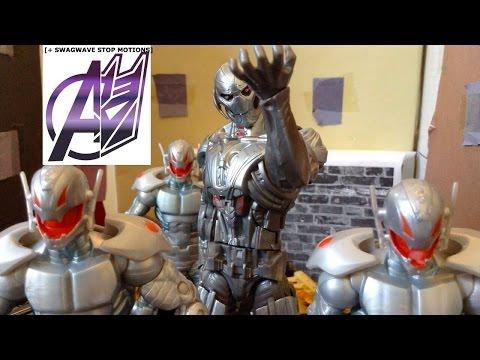 Avengers Stop Motion-[Age Of Ultron] Avengers Vs Ultron Pt 2 Final Battle Stop Motion