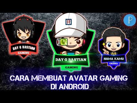Cara Membuat Logo Avatar Gaming Di Hp Android Youtube