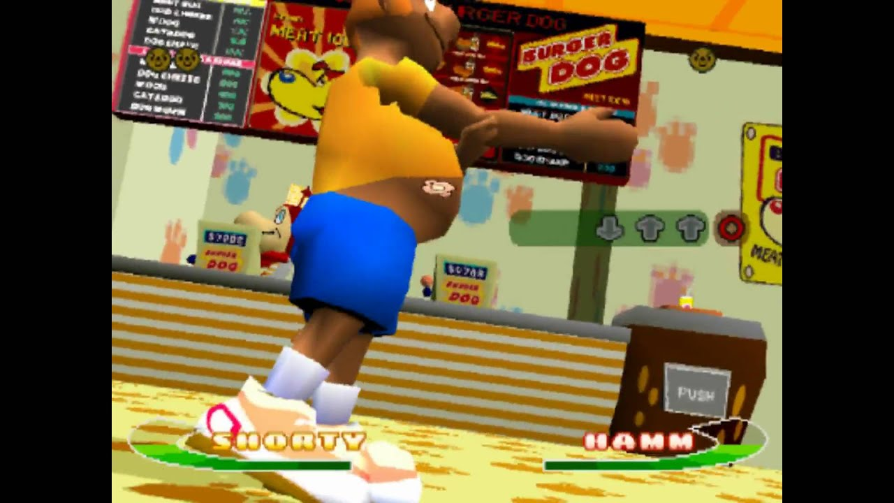bust a groove game ps1