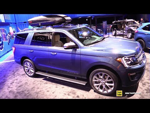 2019 Ford Expedition Platinum - Exterior and Interior Walkaround - 2019 Detroit Auto Show