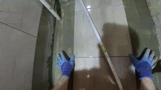 Укладка Плитки на Пол в Туалете своими руками. Мастер-класс.