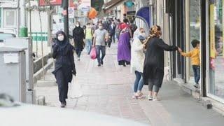 Irán afronta una tercera ola de coronavirus
