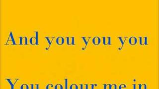 Colour Me In - Rea Garvey [Lyrics]