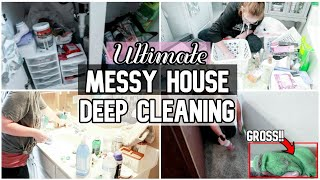 EXTREME Whole Messy House DEEP Clean Declutter & Organize | Cleaning Motivation | Clean With Me 2019