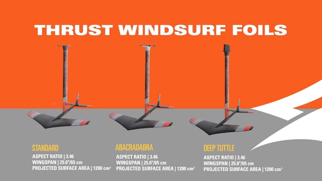 2019 Naish Thrust Windsurf | All-around Freeride Foil