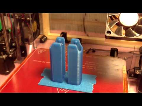 3D printing - speed and temperature