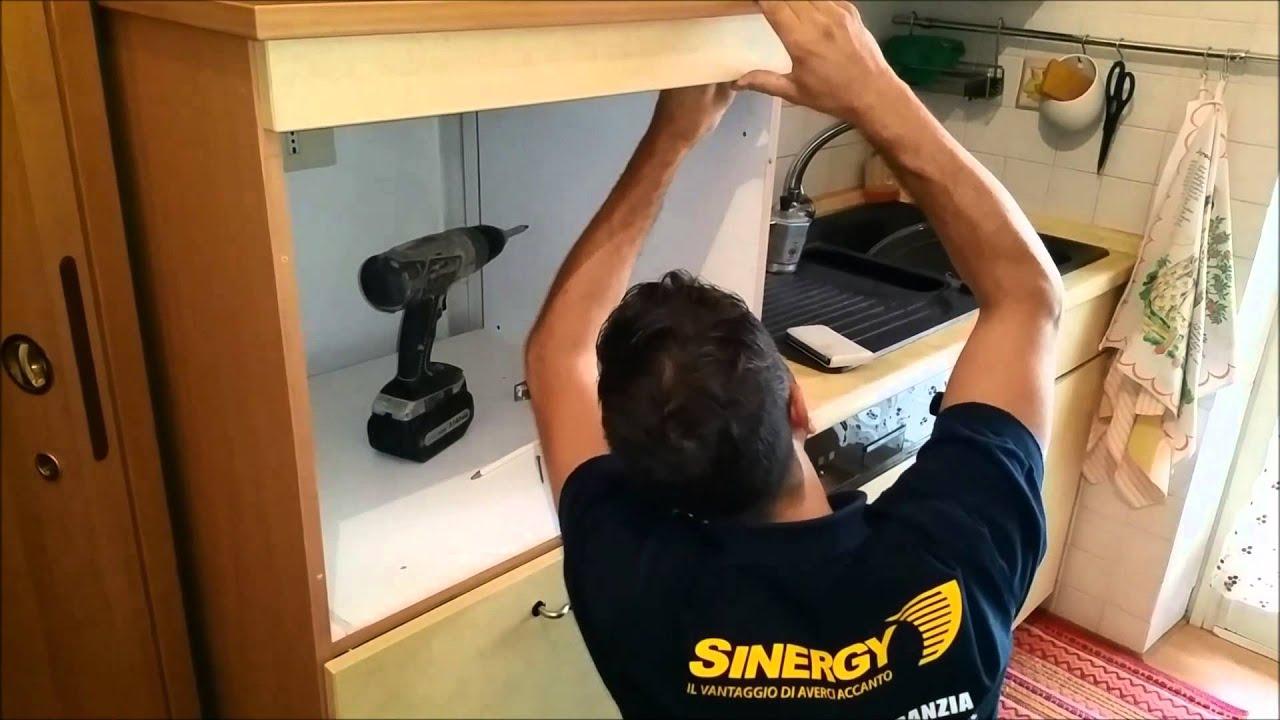 Installazione forno incasso xelium whirpool 6 senso con - Mobile per lavastoviglie da incasso ...