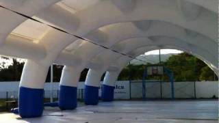 Inflatable tunnel for Puebla Government 01