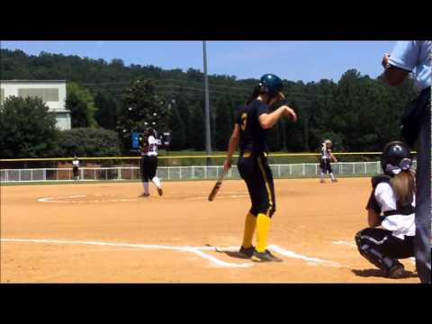 Amanda Chambers (2013, P, 1B) Gold Cup Pitching Clips