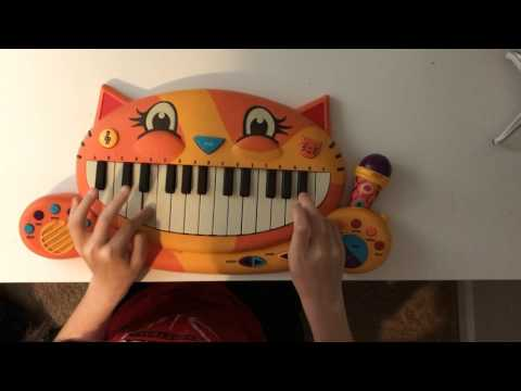 "playing Jeffy ""why"" on Jeffy's cat piano"