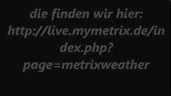metrix Wetter für meine Stadt