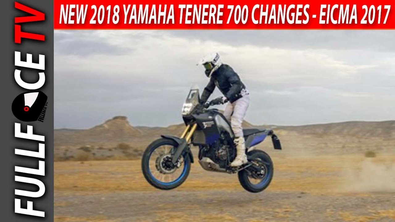 2018 Yamaha Tenere 700 Release And Specs Eicma 2017 Youtube