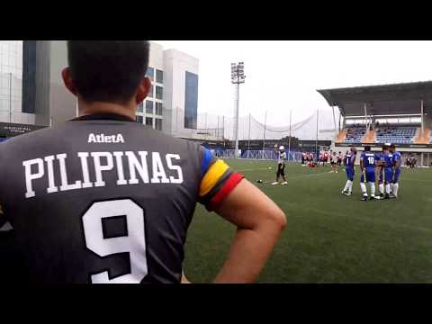 Philippines vs Kuwait pt 2 IFAF Asia championship 2017 LIVE Sponsored by Samsung AlBabtain & Ooredoo