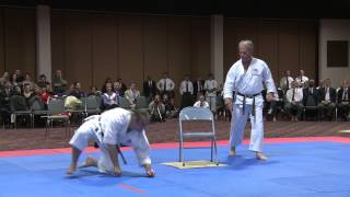 Sensei Bruce Green Chair Demonstration