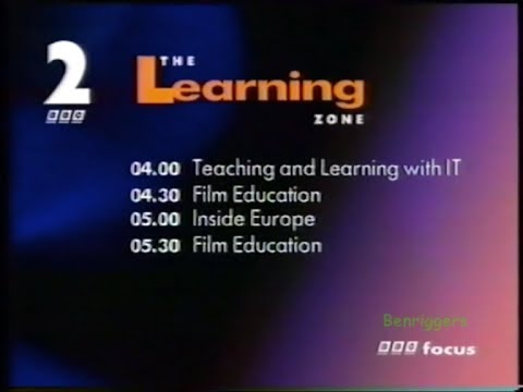 BBC2 The Learning Zone Junction 17th/18th June 1997