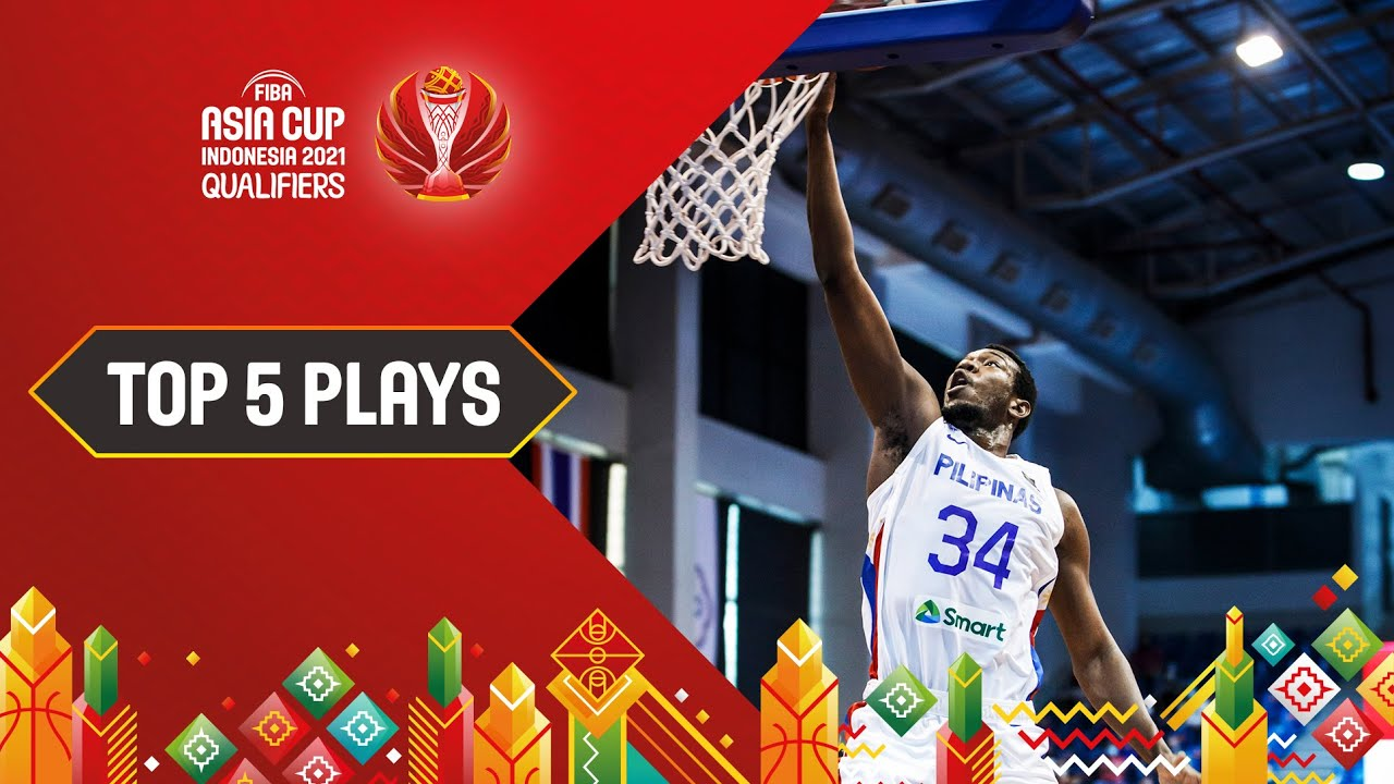 Nike Top 5 Plays ft. Philippines, Japan and more | FIBA Asia Cup 2021 Qualifiers