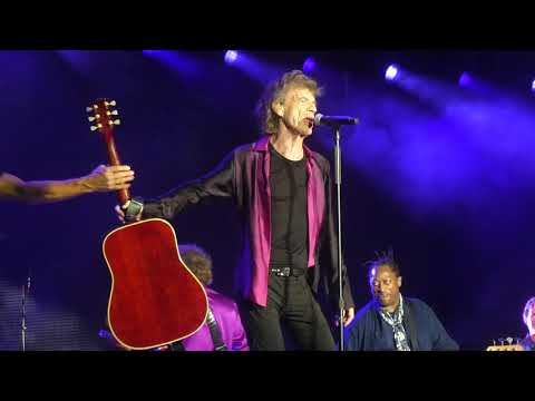 """""""She's a Rainbow & You Can't Always Get"""" Rolling Stones@MetLife Stadium New York 8/1/19"""