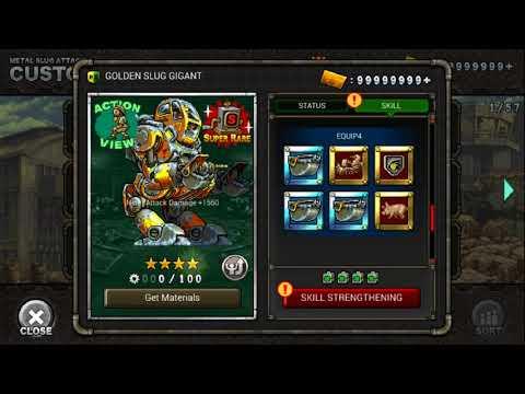 Metal Slug Attack Online (3.2) getting Golden Slug Gigant | Read Desc ...