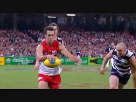 FOUR Nick Davis Goals v Geelong Cats @ SCG