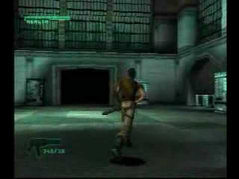 C-12 Final Resistance PS1 gameplay