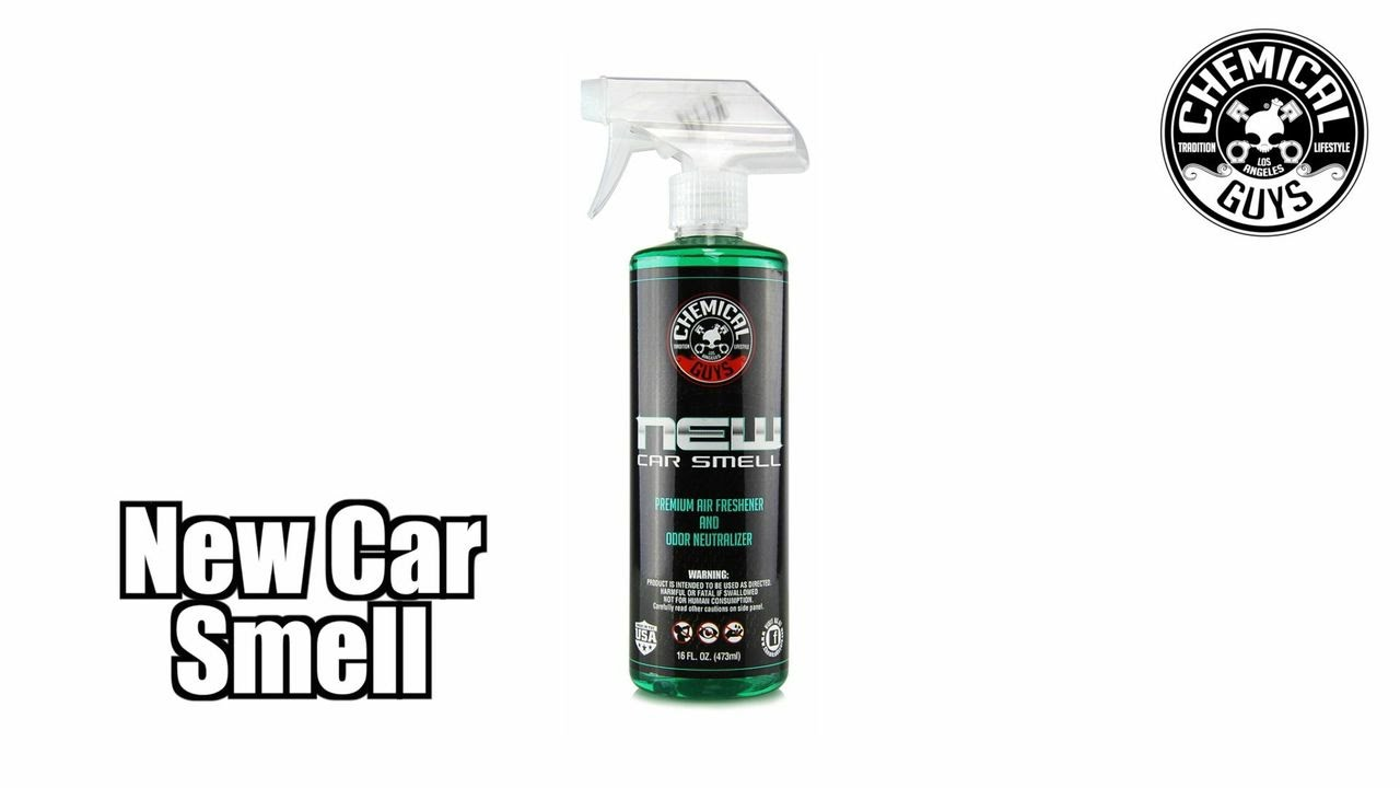 Remove New Car Smell