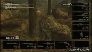 Metal Gear Solid 3 Subsistence - Special Duel Mode FULLHD Guide
