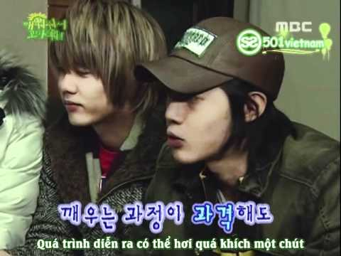 [Vietsub] SS501 MBC Thank You For Waking Me Up Ep 7 Part 1/2