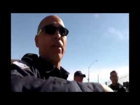 US/MEX port of entry AZ w/ James Freeman & Allen on the spot