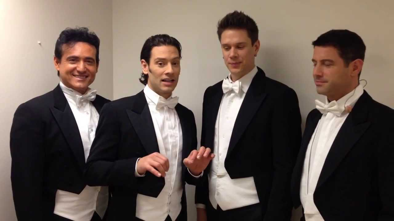 Il divo announce 39 a musical affair 39 world tour youtube - Il divo music ...