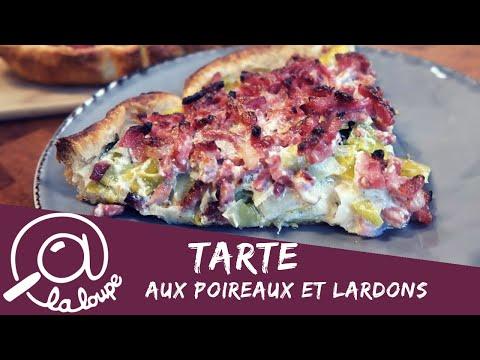 tarte-cremeuse-aux-poireaux-et-lardons-#86