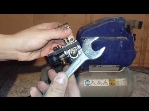 Come sostituire il pressostato al Compressore