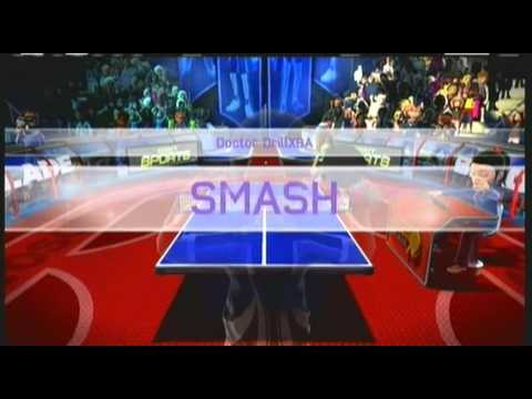 Kinect Sports Table Tennis Gameplay Xbox 360 Kinect