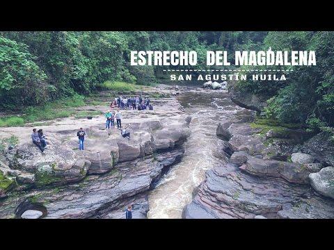Visita al Estrecho del Magdalena en San Agustín Huila