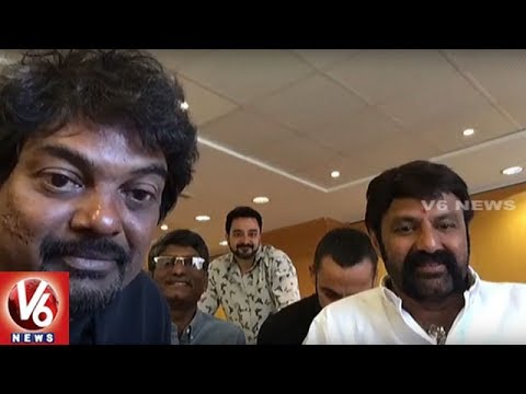 Nandamuri Balakrishna Facebook Live Along With Puri Jagannadh From Portugal | V6 News