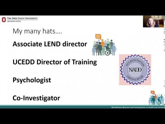 MHDD Leadership Webinar 1 - Dr. Andrea Witwer