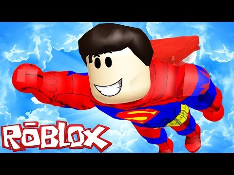 JE DEVIENS SUPERMAN !   Roblox