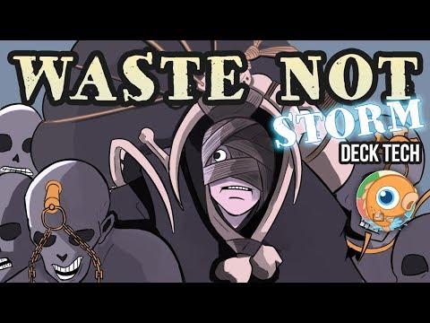 Instant Deck Tech: Waste Not Storm (Modern)