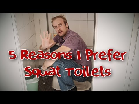 5 REASONS I PREFER SQUAT TOILETS & How to Use Them